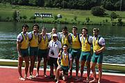 Lucerne, Switzerland.  2010 FISA World Cup. Lake Rotsee, Lucerne.  14:17:16   Sunday  11/07/2010.  [Mandatory Credit Peter Spurrier/ Intersport Images]