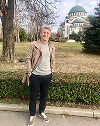 """Bastian Schweinsteiger releases a photo on Instagram with the following caption: """"Regards from Belgrade!"""". Photo Credit: Instagram *** No USA Distribution *** For Editorial Use Only *** Not to be Published in Books or Photo Books ***  Please note: Fees charged by the agency are for the agency's services only, and do not, nor are they intended to, convey to the user any ownership of Copyright or License in the material. The agency does not claim any ownership including but not limited to Copyright or License in the attached material. By publishing this material you expressly agree to indemnify and to hold the agency and its directors, shareholders and employees harmless from any loss, claims, damages, demands, expenses (including legal fees), or any causes of action or allegation against the agency arising out of or connected in any way with publication of the material."""