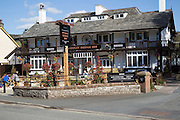 Pooley Bridge Inn, Pooley Bridge village, Lake District national park, Cumbria, England, UK