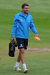 Somerset's Academy Coach Steve Snell Photo mandatory by-line: Harry Trump/JMP - Mobile: 07966 386802 - 10/05/15 - SPORT - CRICKET - Somerset v New Zealand - Day 3- The County Ground, Taunton, England.