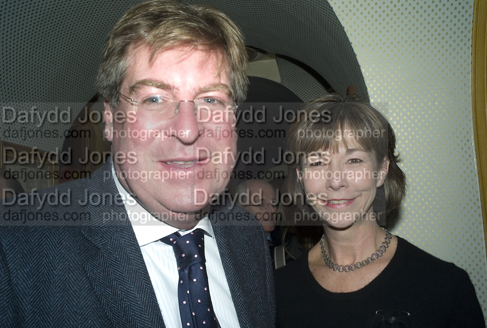 ED AND FIONA STOURTON, Launch of Crosley Bespoke Diamond Studs. Annabels. London. 15 November 2007. -DO NOT ARCHIVE-© Copyright Photograph by Dafydd Jones. 248 Clapham Rd. London SW9 0PZ. Tel 0207 820 0771. www.dafjones.com.