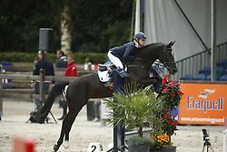 080 - Fenne - Mestrom Nicole<br /> 4 Jarige Springen<br /> KWPN Paardendagen - Ermelo 2014<br /> © Dirk Caremans