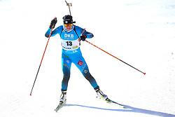 Justine Braisaz-Bouchet of France competes during the IBU World Championships Biathlon Women's 7,5 km Sprint Competition on February 13, 2021 in Pokljuka, Slovenia. Photo by Primoz Lovric / Sportida