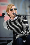 Jack's Mannequin performs at the Bamboozle Music Festival. Meadowlands Sports Complex, East Rutherford, NJ.  April 30, 2011. Copyright © 2011 Todd Owyoung.