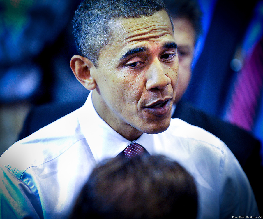 Barack Obama by Donna Fisher