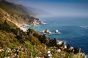 The coastline of Big Sur