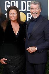 January 5, 2020, Beverly Hills, Kalifornien, USA: Keely Shaye Smith und Pierce Brosnan bei der Verleihung der 77. Golden Globe Awards im Beverly Hilton Hotel. Beverly Hills, 05.01.2020 (Credit Image: © Future-Image via ZUMA Press)