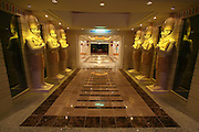 Royal Caribbean International's  Independence of the Seas, the world?s largest cruise ship. ..Interior and exterior features photos...Pyramid Lounge *** Local Caption *** Pyramid Lounge