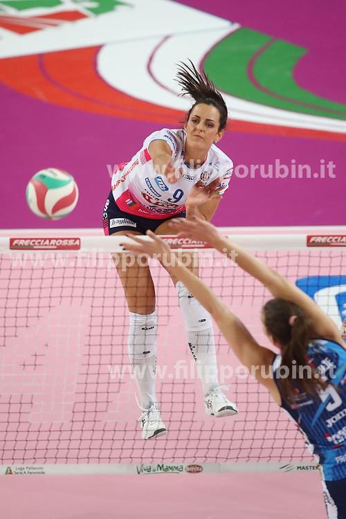 BOSETTI CATERINA (NOVARA)<br /> FINAL FOUR COPPA ITALIA PALLAVOLO FEMMINILE<br /> RIMINI 14-03-2021<br /> FOTO FILIPPO RUBIN / LVF
