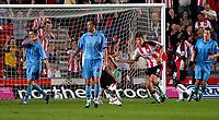 Photo: Alan Crowhurst.<br />Southampton v Coventry City. Coca Cola Championship. 09/08/2006. Grzegorz Rasiak (R) of Saints celebrates his goal from the penalty spot.