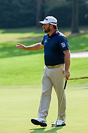 Graeme McDowell (NIR) after sinking his putt on 1 during Rd4 of the World Golf Championships, Mexico, Club De Golf Chapultepec, Mexico City, Mexico. 2/23/2020.<br /> Picture: Golffile | Ken Murray<br /> <br /> <br /> All photo usage must carry mandatory copyright credit (© Golffile | Ken Murray)