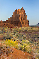 Temple of the Sun Capitol Reef National Park Utah