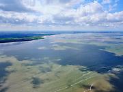 Nederland, Noord-Holland, Wieringen, 07-05-2021; Ondiepte in het Zuiderzwin, waarschijnlijk Middelplaat. Onderdeel van de Waddenzee ten noorden van Wieringen -  Den Oever.<br /> Shallow depth in the Zuiderzwin, part of the Wadden Sea north of Wieringen - Den Oever.<br /> luchtfoto (toeslag op standard tarieven);<br /> aerial photo (additional fee required)<br /> copyright © 2021 foto/photo Siebe Swart