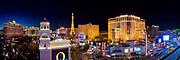 Stitched Panorama of the Strip, Las Vegas, Nevada USA