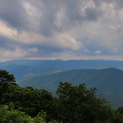 """Clouds Upon the Blue Ridge""<br />