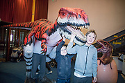 NO FEE PICTURES<br /> 17/12/17 Sam and Luke Hughes swords age 11 and 7 pictured at the prehistoric preview and official opening of Dinosaurs Around The World now open at the the Ambassador Theatre  for a limited time only. Embark on a globetrotting expedition around the world to discover the Age of Reptiles! With advanced animatronics, a multi-layered narrative, fossils, authentic casts, cutting-edge research and immersive design elements you'll experience the Age of Reptiles as it comes to life!  Dinosaurs Around the World is open daily to the public from 10 a.m. with last entry at 6pm for a limited time only. Tickets available from Ticketmaster.ie and from the Ambassador Theatre Box Office now. Visit www.mcd.ie for more. Pictures: Arthur Carron