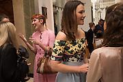 PAULA GOLDSTEIN; AMBER ATHERTON, The Veuve Clicquot Business Woman Award. Claridge's Ballroom. London W1. 11 May 2015.