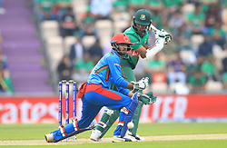 Bangladesh's Shakib Al Hasan during the ICC Cricket World Cup group stage match at The Hampshire Bowl, Southampton.