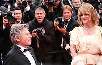 Roman Polanski, Director and  Nastassja Kinski, actress, arriving at the Vous N'Avez Encore Rien Vu gala screening at the 65th Cannes Film Festival France. Monday 21st May 2012 in Cannes Film Festival, France.