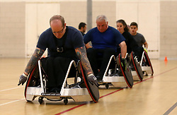 Bristol Rugby Community Foundation launch a new Adult Wheelchair Rugby team, The Bristol Bears - Mandatory by-line: Robbie Stephenson/JMP - 21/09/2017 - RUGBY - Ashton Park Sports Centre - Bristol, England - Bristol Bears Wheelchair Rugby Launch Night