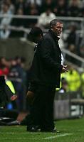 Photo: Andrew Unwin.<br />Newcastle Utd v Aston Villa. The Barclays Premiership.<br />03/12/2005.<br />Newcastle's under-pressure manager, Graeme Souness.