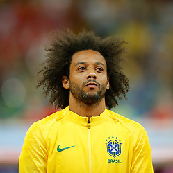 June 17, 2018 - Rostov Do Don, Rússia - ROSTOV DO DON, RO - 17.06.2018: BRAZIL VS SWITZERLAND - Marcelo from Brazil during a match between Brazil and Switzerland valid for the first round of Group E of the 2018 World Cup held at the Rostov Arena in Rostov on Don, Russia. (Credit Image: © Marcelo Machado De Melo/Fotoarena via ZUMA Press)