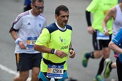 01-11-2015 USA: NYC Marathon We Run 2 Change Diabetes day 4, New York<br /> De dag van de marathon, 42 km en 195 meter door de straten van Staten Island, Brooklyn, Queens, The Bronx en Manhattan / José