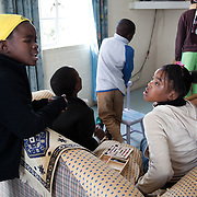 The Stars Foundation visiting Home from Home in Cape Town, South Africa...At the home of Beaullah, the foster mother of 6 in Khayelitsha township, outside Cape Town in South Africa. The kids all come from the local community and live together with Beaullah as a family...Home from Home provide security for children who are either orphans or have been abandoned, neglected or abused . Many of the children have suffered severe abuse and more than half are HIV positive. Home from Home set up foster homes of no more than six children in local communities where there is a need and employ women to run the homes and become the registered foster mother of the children.