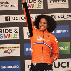 01-02-2020: Wielrennen: WK Veldrijden: Dubendorf<br /> Ceylin del Carmen Alvarado