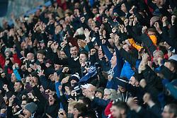 Falkirk's Will Vaulks scores. Falkirk 1 v 0 Kilmarnock, Ladbrokes Premiership Play-Off First Leg, played 19/5/2016 at The Falkirk Stadium.