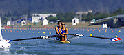 Sydney. AUSTRALIA. 2000 Summer Olympic Regatta, Penrith. NSW.  <br /> FRA M2X:  Bow: Frederic KOWAL and Adrien HARDY<br /> [Mandatory Credit Peter SPURRIER/ Intersport Images] Sydney International Regatta Centre (SIRC) 2000 Olympic Rowing Regatta00085138.tif