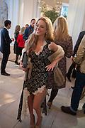NATALIE JOEL, Cartier Tank Anglaise launch. Kensington Palace Orangery, London.  19 April 2012.