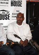 """Kirk """"Sticky Fingaz"""" Jones at The Black House during the 2008 Sundance Film Festival. ..HISTORY..The Blackhouse Foundation was created in 2007 by a group of dedicated individuals interested in black cinema - preserving and furthering its legacy. Black House works to provide a platform for African American filmmakers to use their voice to tell stories by and about African Americans in the world of independent and feature films...Black filmmakers made history in 2007, the year The Blackhouse Foundation launched the Blackhouse® venue at the 2007 Sundance Film Festival.  Blackhouse® played host to over 150 daily visitors with more than 1,200 people visiting the venue throughout the festival.  Blackhouse® was open to the public throughout the day, hosted workshops, a legendary nightly cocktail hour, a marquee party for Our Stories Films, LLC and launched a landmark fellows program for young, aspiring filmmakers.  ..MISSION..The mission of the Blackhouse Foundation is to expand opportunities for Black filmmakers by providing a physical venue for our constituents at the world's most prominent film festivals and creating a nucleus for continuing support, community, education and knowledge.  ."""