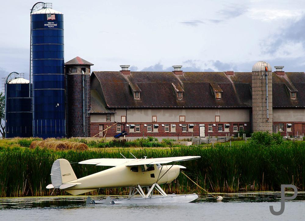 Cessna floatplane at EAA Airventure in Oshkosh WI
