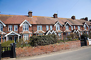 Row of houses Walberswick, Suffolk