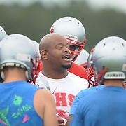 High School Football Practice 2014