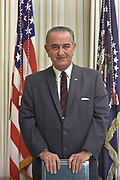 Lyndon Baines Johnson (1908 – 1973), referred to as LBJ, served as the 36th President of the United States from 1963 to 1969