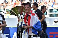 Mario Mandzukic<br /> Esultanza Juventus Campione d'Italia . Celebration Juventus Italian championship winner <br /> Torino 21-05-2017 Juventus Stadium Football Calcio Serie A 2016/2017 Juventus - Crotone .<br /> Foto Insidefoto