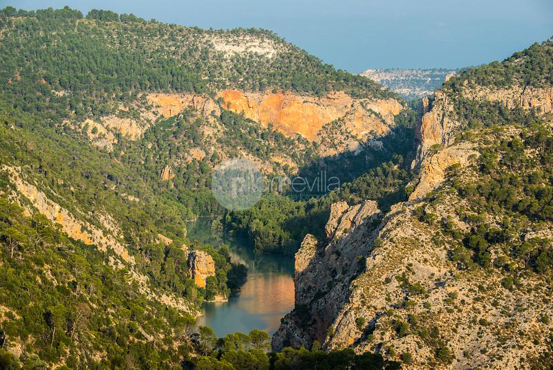 Cañón del Río Júcar. Villa de Ves. La Manchuela. Albacete ©ANTONIO REAL HURTADO / PILAR REVILLA