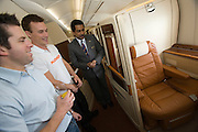 Airbus A380 first commercial flight - Singapore Airlines SQ 380 Singapore-Sydney on October 25, 2007. Passenger Mr. Julian Hayward (m.) paid $ 100.380 for 2 First Class Suites.