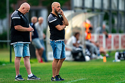 Coach Ilo Venetis of EDO in action. Friendly match against EDO and Maarssen lost the home match with 3-0 on 20 August 2020 in Maarssen.