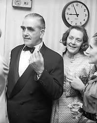The 5TH DUKE OF WESTMINSTER & DUCHESS OF WESTMINSTER at a party in London on 20th March 1969.