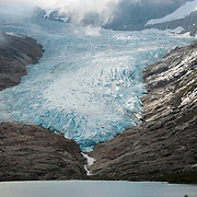 Svartisen Glacier, Norway's second largest glacier.
