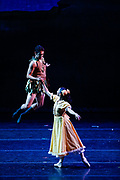 Bay Pointe Ballet performs Bruce Steivel's Peter Pan at the San Mateo Performing Arts Center in San Mateo, California, on September 24, 2016. (Stan Olszewski/SOSKIphoto)