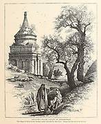 Absalom's Pillar, Valley of Jehoshaphat, Jerusalem from the book Picturesque Palestine, Sinai, and Egypt By  Colonel Wilson, Charles William, Sir, 1836-1905. Published in New York by D. Appleton and Company in 1881  with engravings in steel and wood from original Drawings by Harry Fenn and J. D. Woodward Volume 1