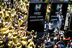 December 9, 2018 - SãO Paulo, Brazil - SÃO PAULO, SP - 09.12.2018: HERO SUPER FINAL 2018 STOCK CAR - In the photo, the Stock Car 2018 champion, Daniel Serra. The Stock Car? Hero Super Final 2018, is in Interlagos, in the south zone of the capital, this Sunday (09), for the big decision of the season of the main category of motorsport in Brazil. (Credit Image: © Aloisio Mauricio/Fotoarena via ZUMA Press)