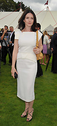 Actress DERVLA KIRWAN at the 25th annual Cartier International Polo held at Guards Polo Club, Great Windsor Park, Berkshire on 26th July 2009.