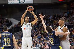 March 2, 2018 - Madrid, Madrid, Spain - Anthony Randolph (L) during Fenerbahce Dogus Istanbul victory over Real Madrid (83 - 86) in Turkish Airlines Euroleague regular season game (round 24) celebrated at Wizink Center in Madrid (Spain). March 2nd 2018. (Credit Image: © Juan Carlos Garcia Mate/Pacific Press via ZUMA Wire)