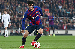 December 5, 2018 - Barcelona, Spain - Carles Alena during the match between FC Barcelona and Cultural Leonesa, corresponding to the 1/16 final of the spanish King Cuo, played at the Camp Nou Stadium on 05th December 2018 in Barcelona, Spain. Photo: Joan Valls/Urbanandsport /NurPhoto. (Credit Image: © Joan Valls/NurPhoto via ZUMA Press)