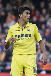 December 23, 2017 - Valencia, Spain - Rodrigo during the match between Valencia CF against Villarreal CF , week 17 of  La Liga 2017/18 at Mestalla stadium, Valencia, SPAIN - 17th December of 2017. (Credit Image: © Jose Breton/NurPhoto via ZUMA Press)